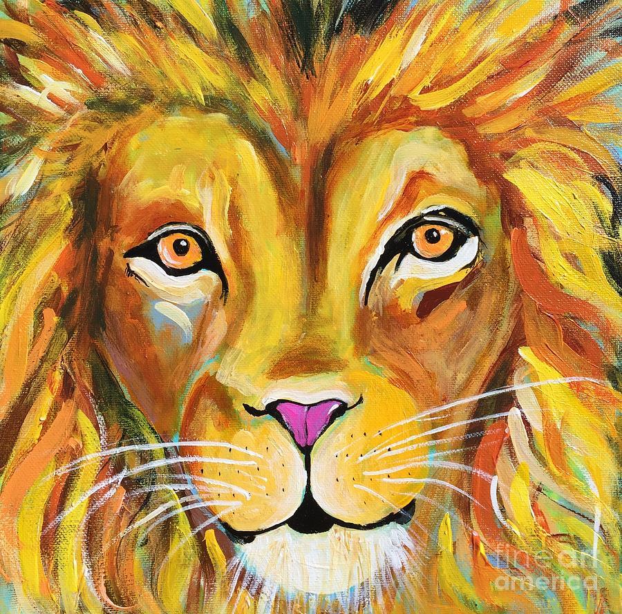 Lee the Lion by Kim Heil