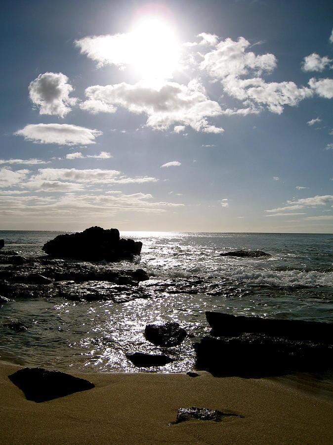 Ocean Photograph - Leeward Sun by Ashley Butler