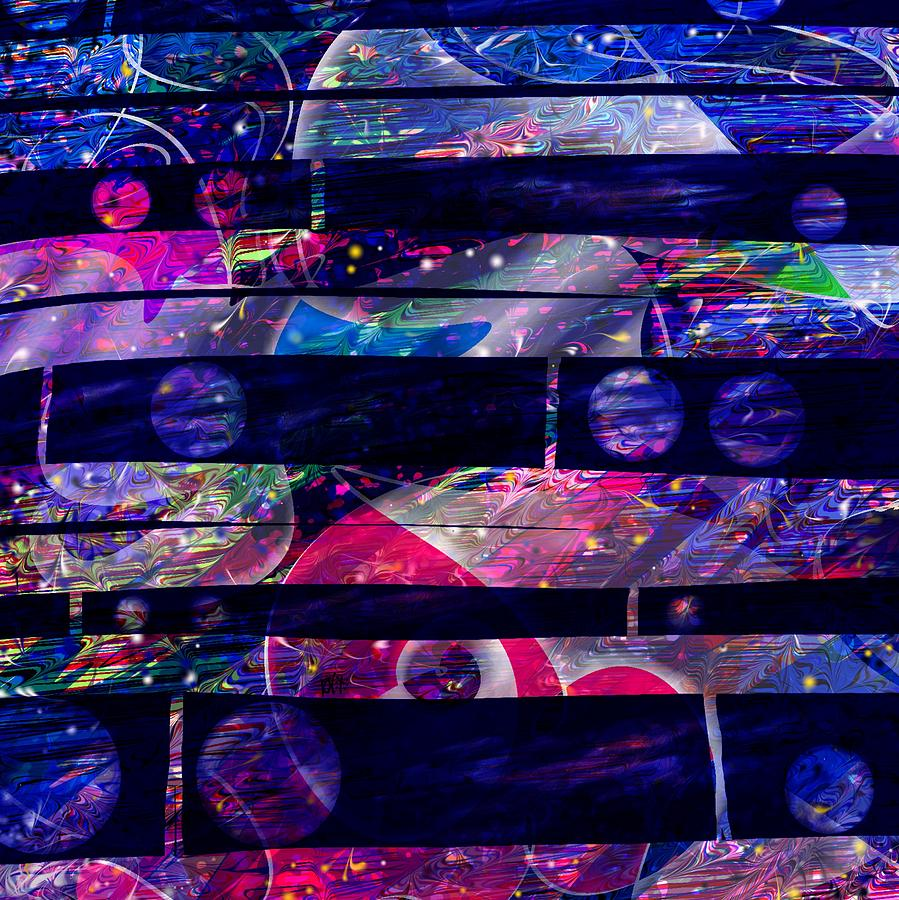 Abstract Digital Art - Leftovers by Rachel Christine Nowicki