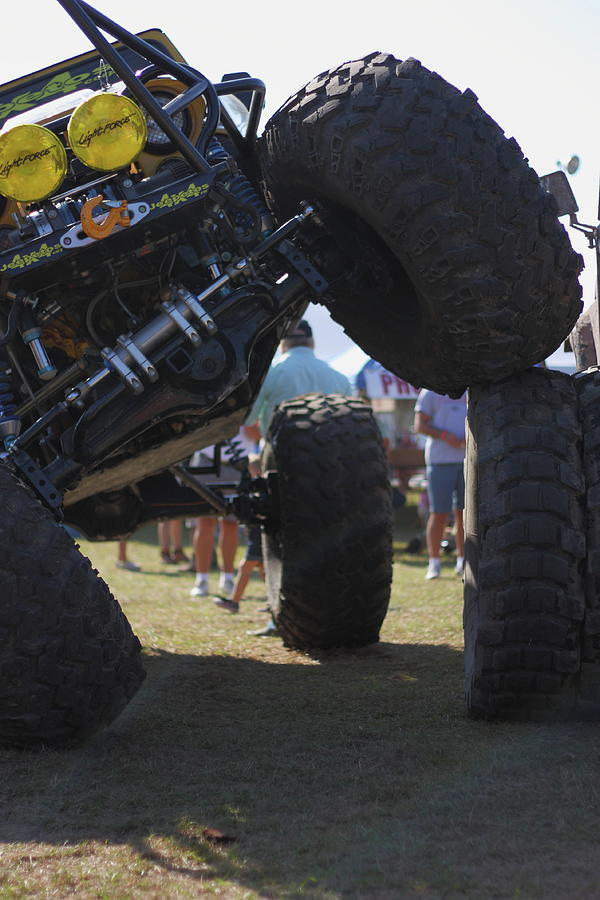 Jeep Photograph - Leg Up by Jamie Smith