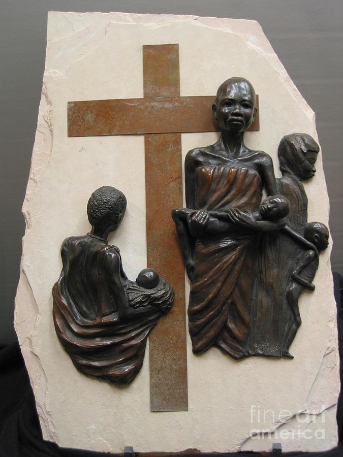 Bronze Sculpture Sculpture - Legacy by Tomi LaPierre
