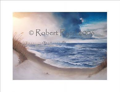 Ocean Painting - Legal-ease by Robert Ryan