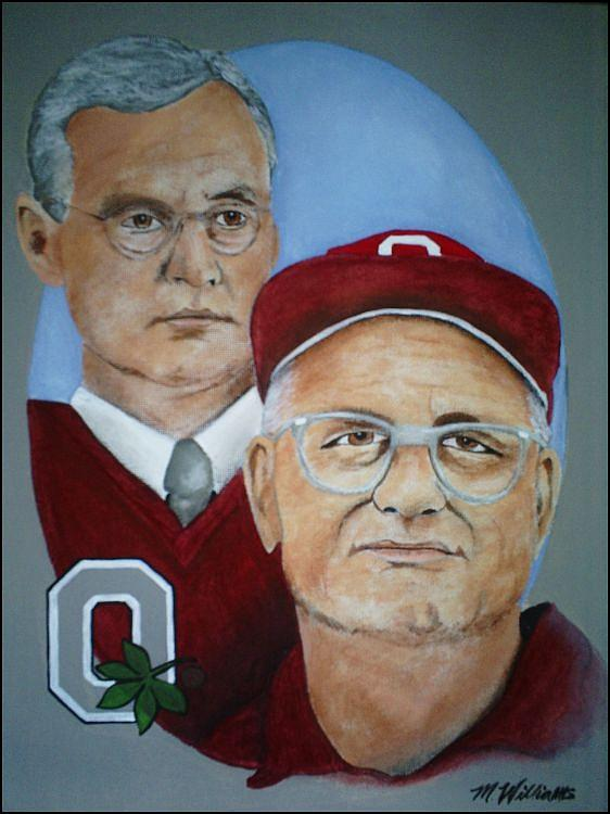 Legendary Coaches Painting by Michelle Williams