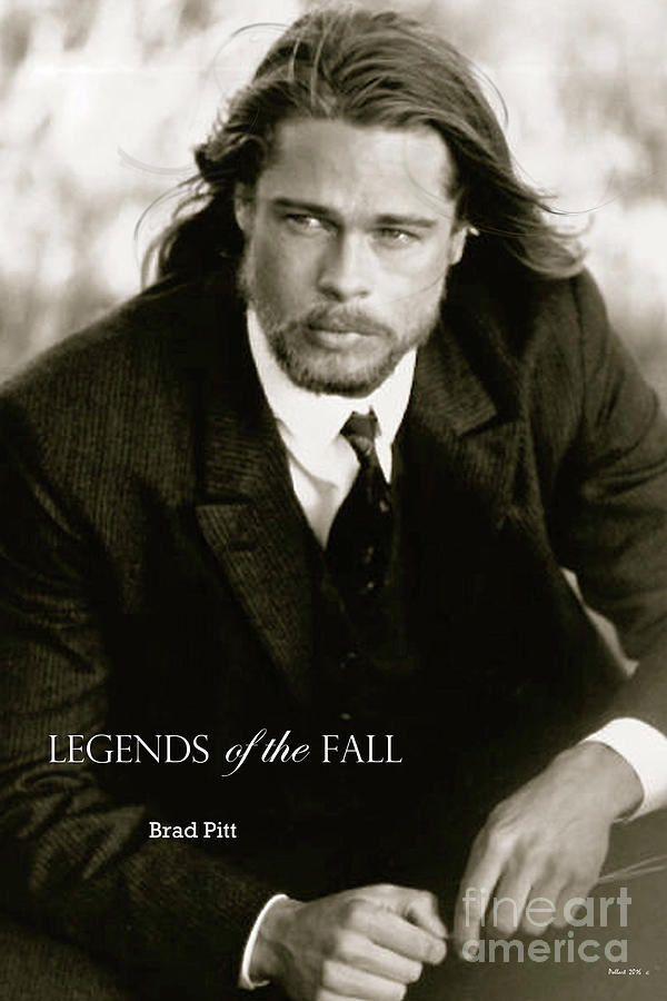 Legend Of The Fall Mixed Media - Legends Of The Fall, Brad Pitt by Thomas Pollart