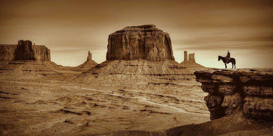 Monument Valley Photograph - Legends by Ryan Smith