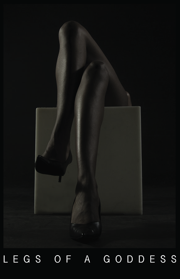 Leggs Of A Goddess Photograph by Calvin Childs