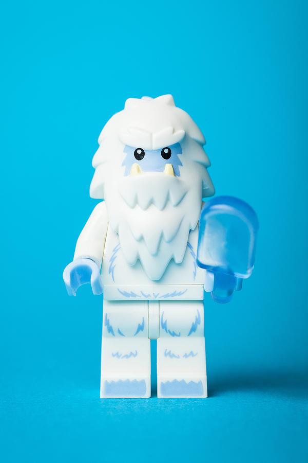 Lego Yeti Photograph