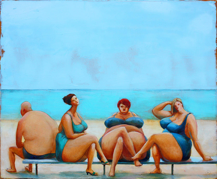 Leisure Painting - Leisure by Agnese Kurzemniece