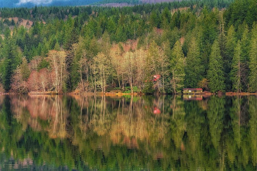 Leland Lake by Thomas Hall