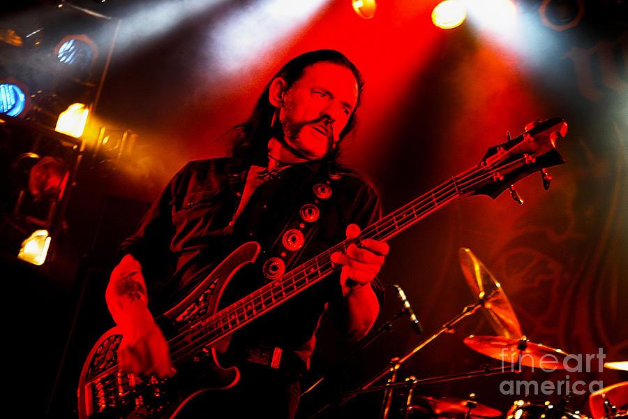 Lemmy Kilmister - Motorhead 2004 Uk Live Concert Tour S35