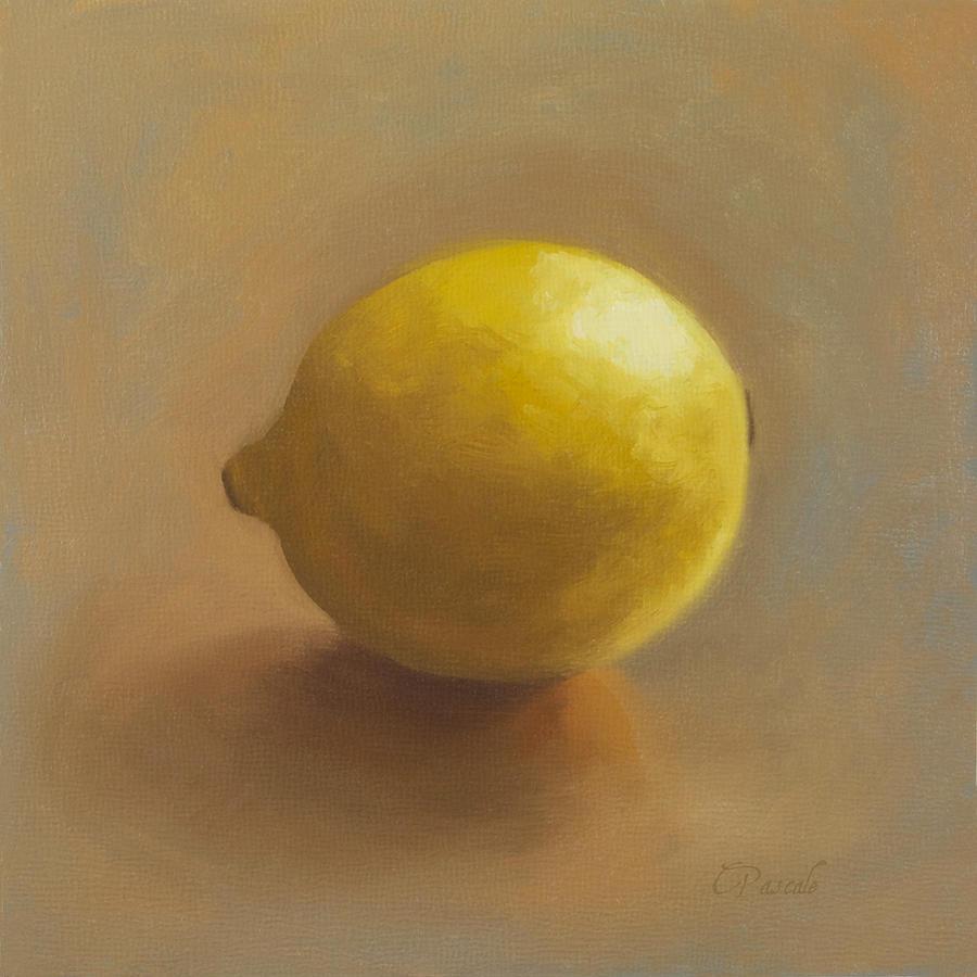 Lemon Painting - Lemon  by Carol Pascale