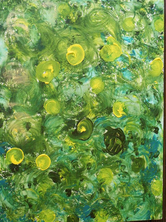 Lemon Painting - Lemon Grove by James Campbell