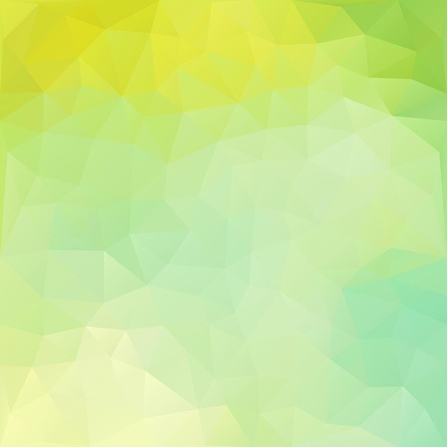 Geometric Digital Art - Lemon-lime Pir by Nessikk