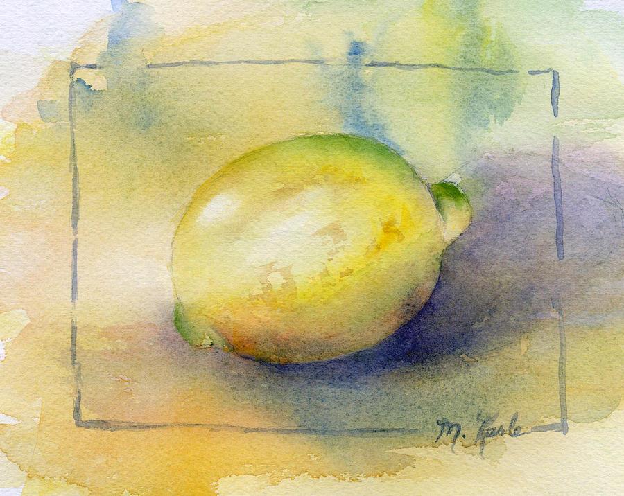Lemon by Marsha Karle