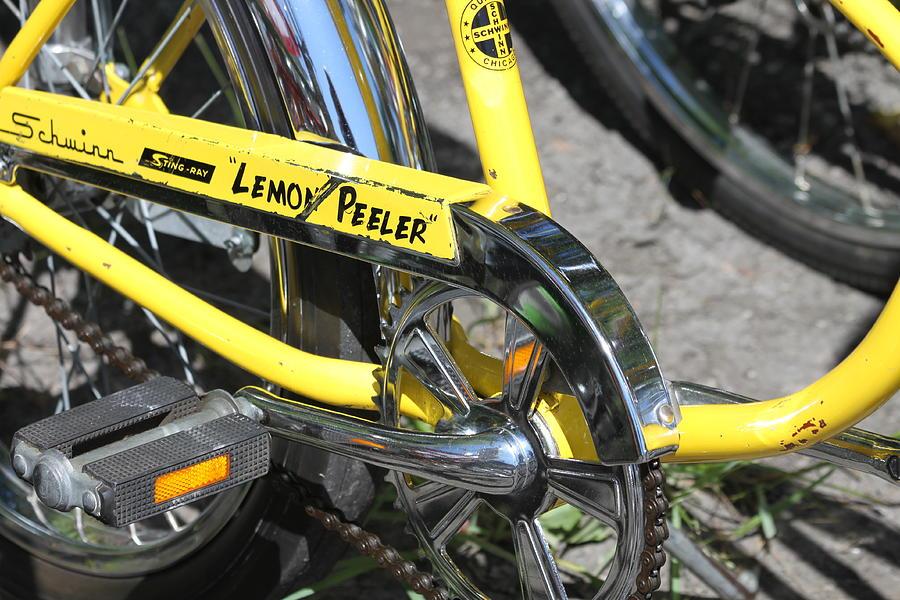 Schwinn Photograph - Lemon Peeler by Lauri Novak