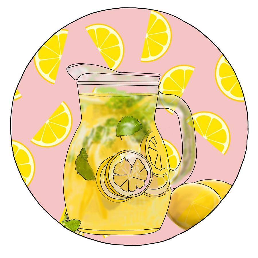 Lemonade Photograph - Lemonade by Kendall Tabor