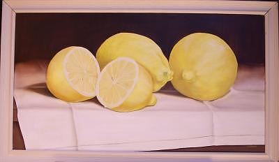 Lemons Painting by Irene Corey