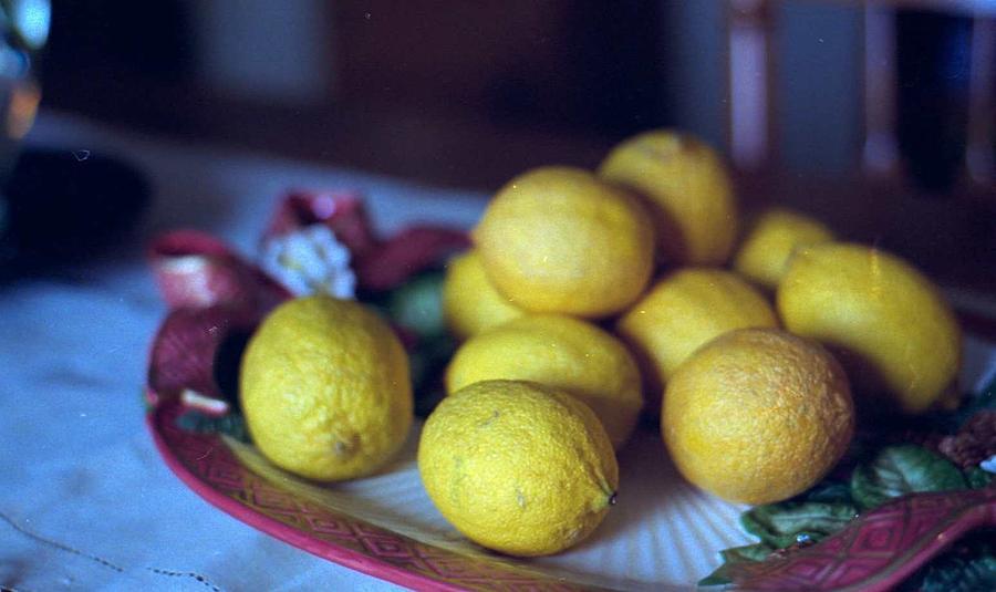 Lemons Photograph - Lemons by Michael Morrison