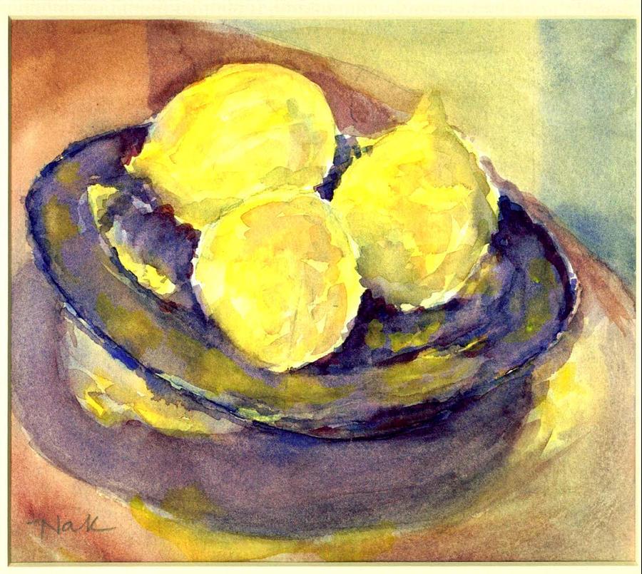 lemons by Naini Kumar