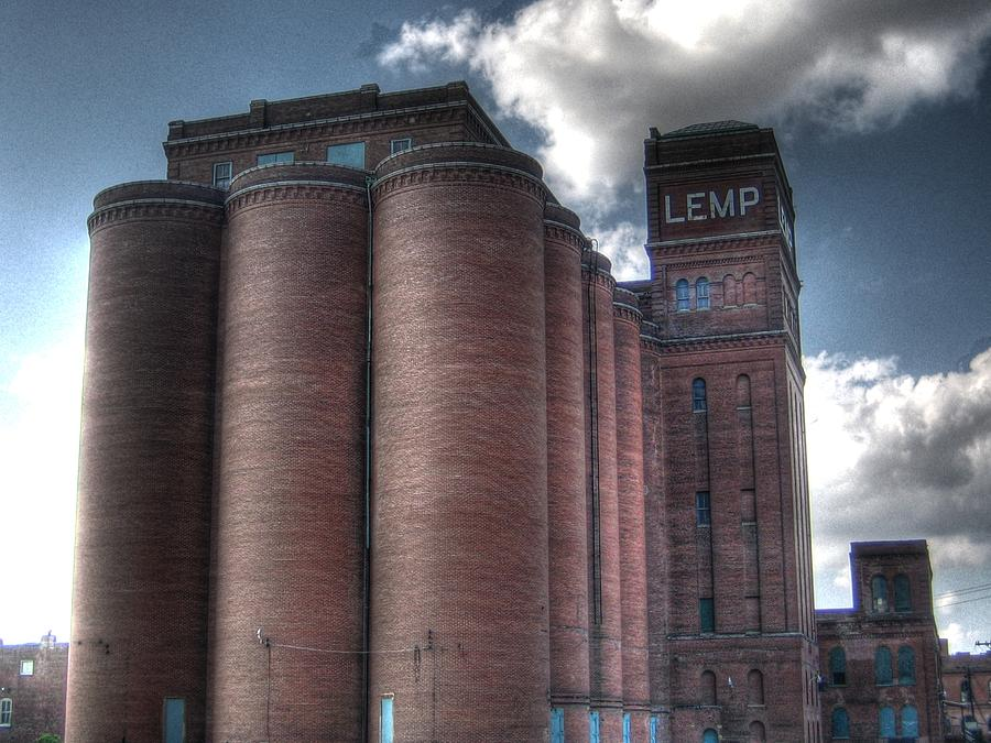 St. Louis Photograph - Lemp Brewery by Jane Linders