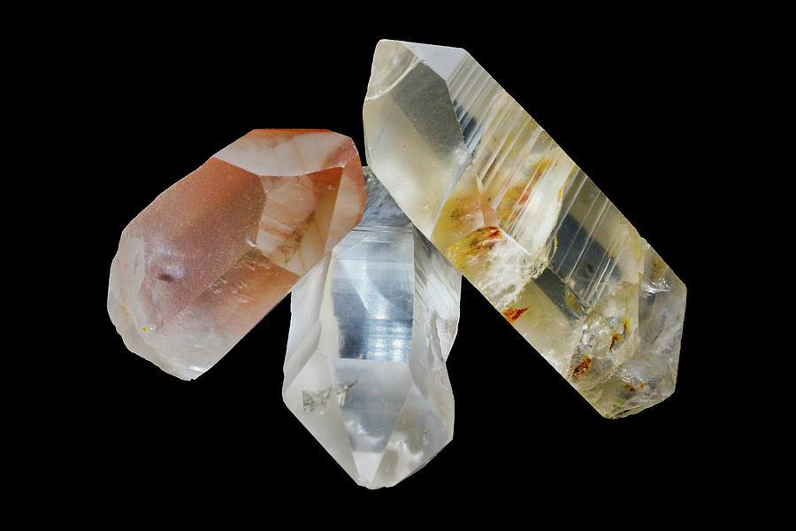 Lemurian Star Seed Crystals  by Gavin Bates