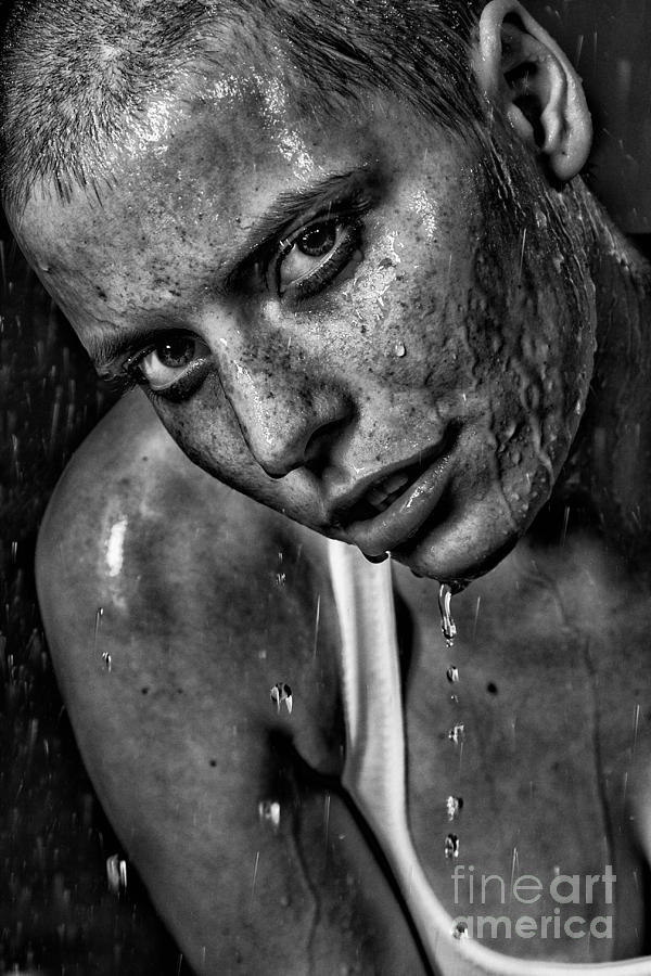 Woman Photograph - Lena by Eugene Volkov