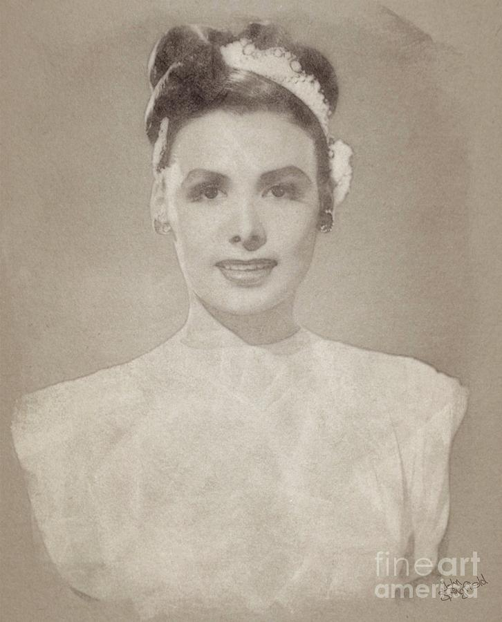 Lena Horne, Actress And Singer Drawing