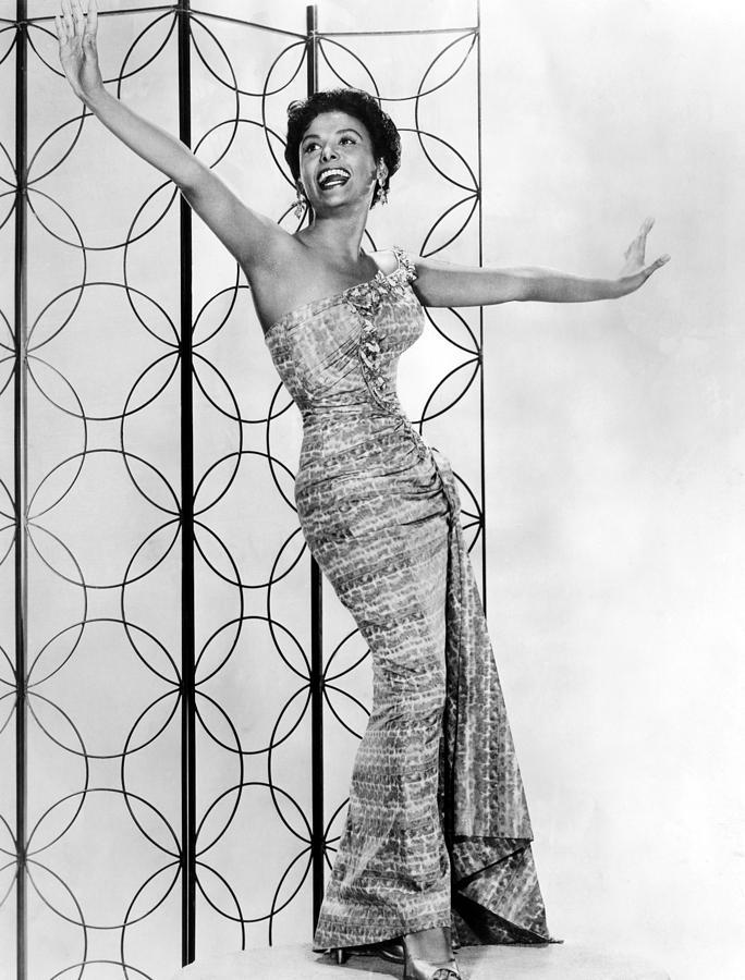 1950s Photograph - Lena Horne. Ca. 1950s. Courtesy Csu by Everett