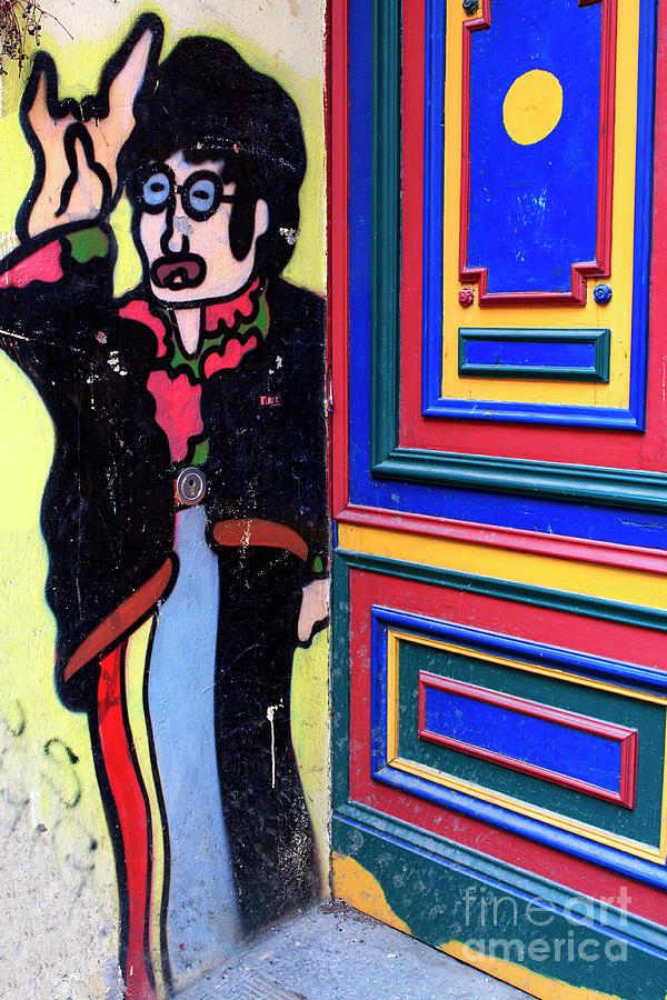 John Lennon Photograph - Lennon In Berlin by John Rizzuto