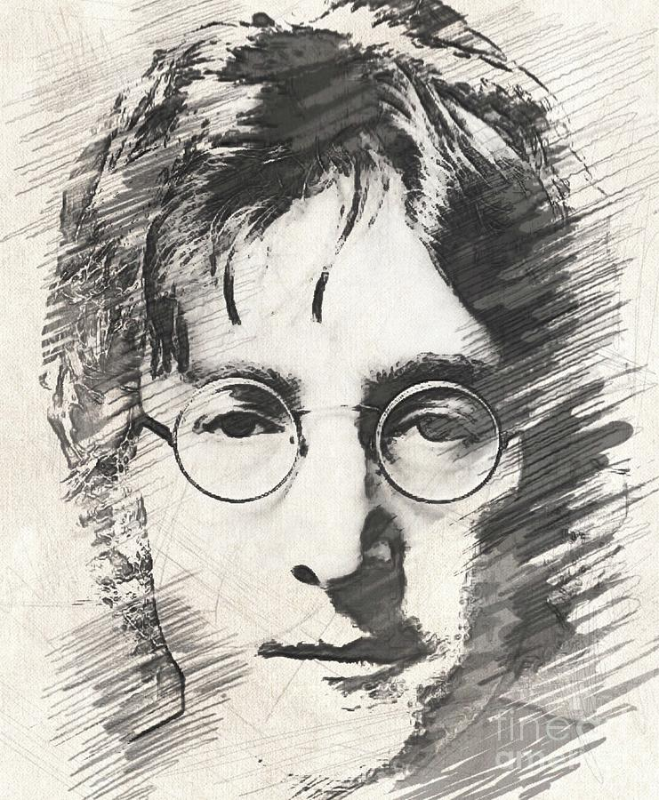 Lennon Drawing