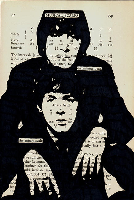 The Beatle Painting - Lennonmccartney Musical Scales by Pop Pages