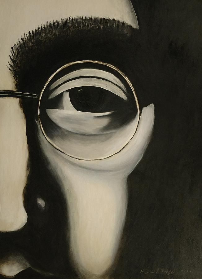 Lennon's Left Eye by Edward Longo