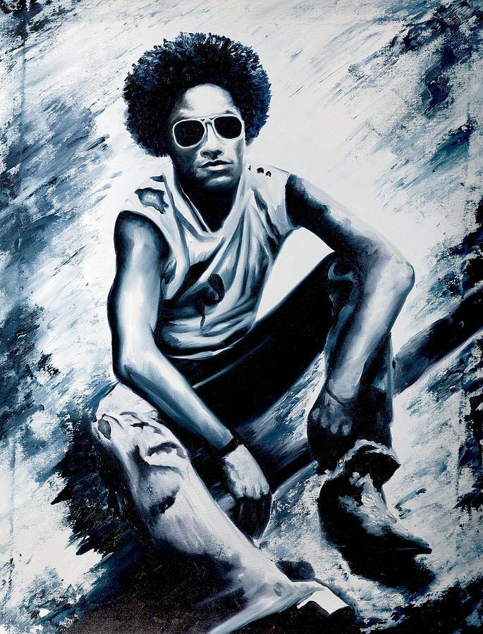 Lenny Kravitz Painting - Lenny Kravitz by Jocelyn Passeron