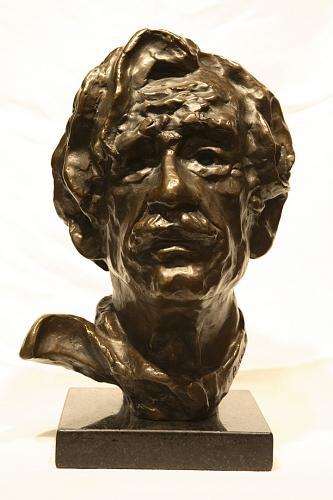 Buste Sculpture - Leo Ayotte 1969 by Pomerleau