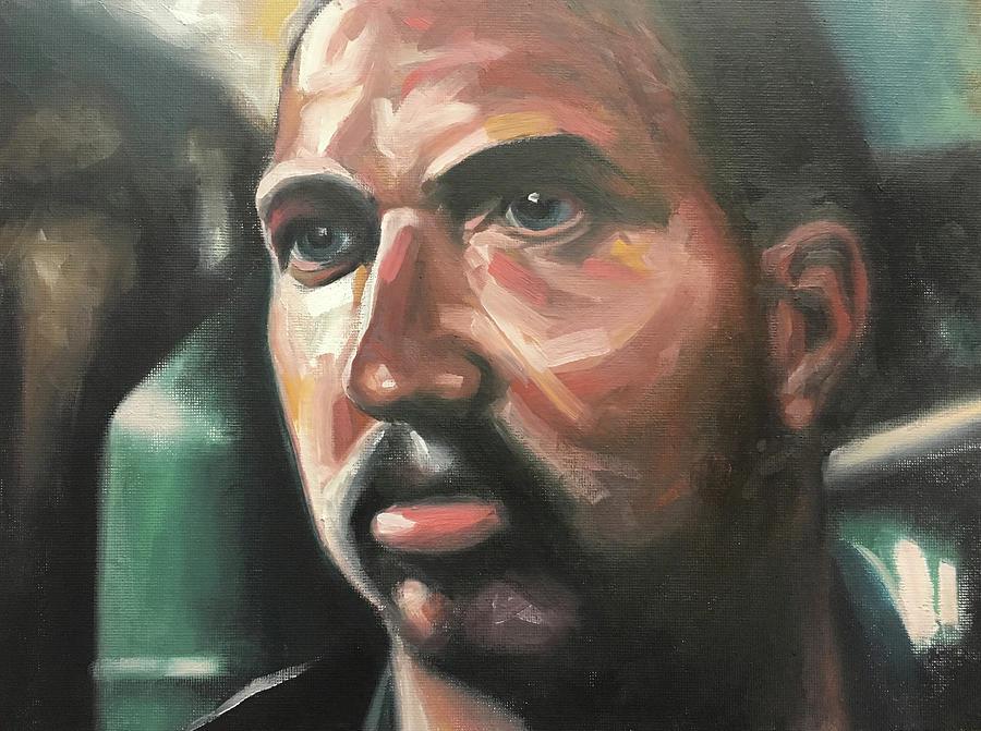 Leon Painting - Leon by Seamas Culligan