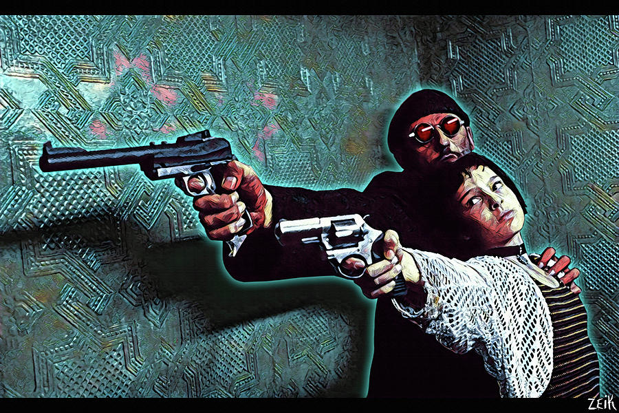 Leon Mixed Media - Leon The Professional - Time To Grow Up by Bobby Zeik