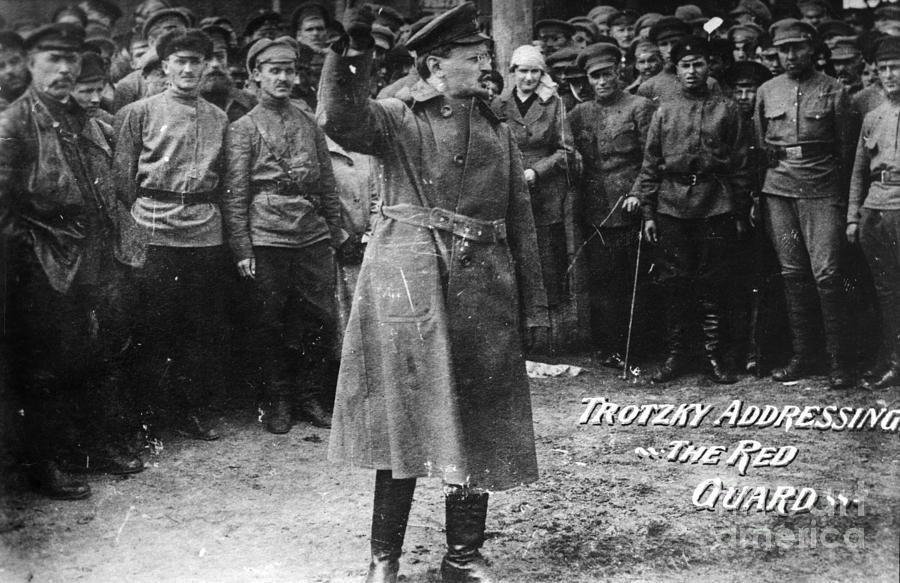 20th Century Photograph - Leon Trotsky (1879-1940) by Granger