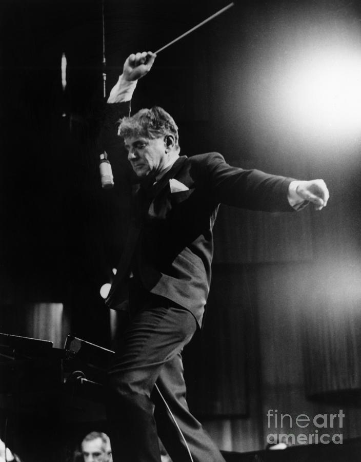 1965 Photograph - Leonard Bernstein by Granger