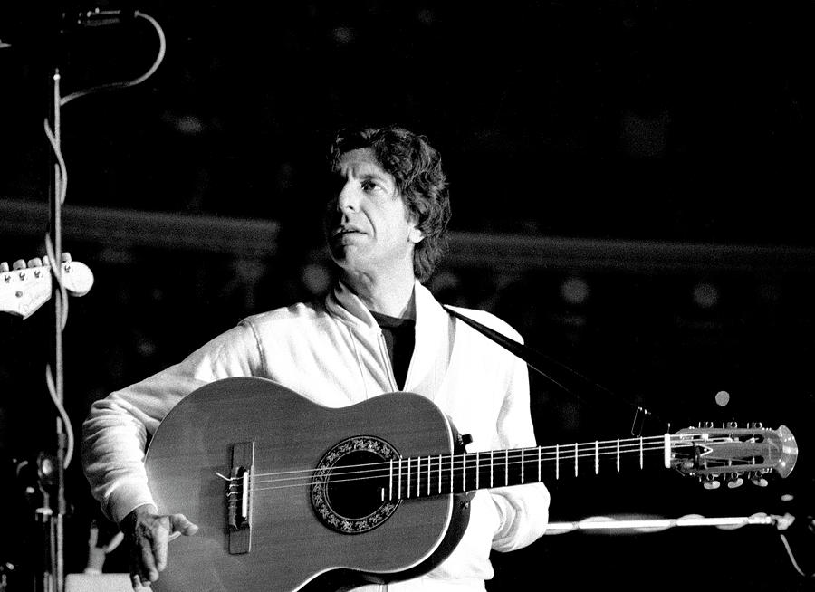 Leonard Cohen 1976 Royal albert Hall by Chris Walter