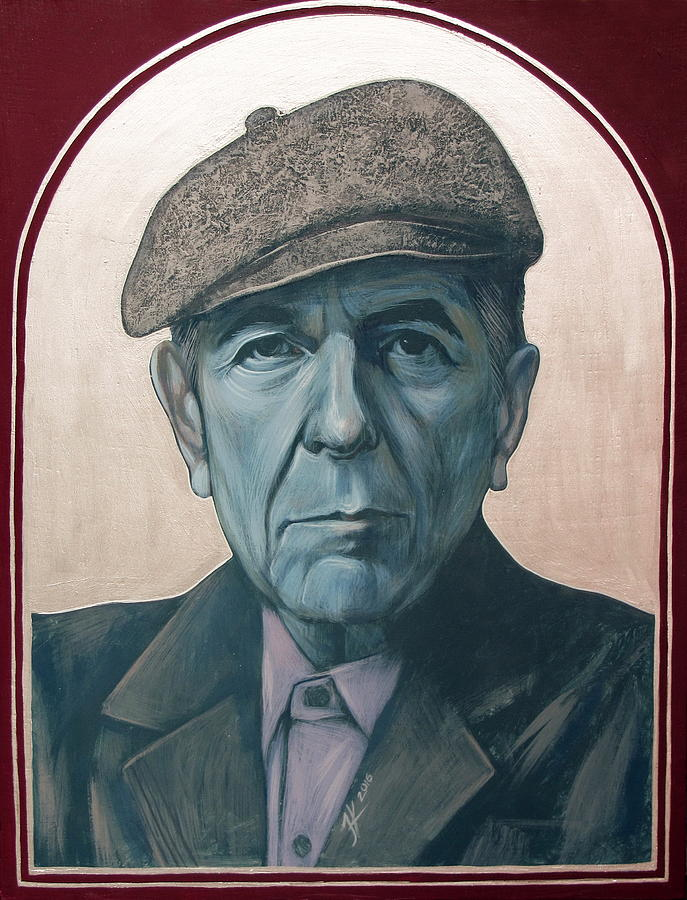 Leonard Cohen Painting - Leonard Cohen by Jovana Kolic