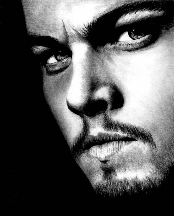 Leonardo Dicaprio Drawing - Leonardo DiCaprio by Rick Fortson