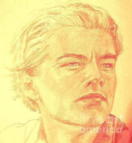 Leonardo Drawing - Leonaro Di Caprio by Caprice Melo