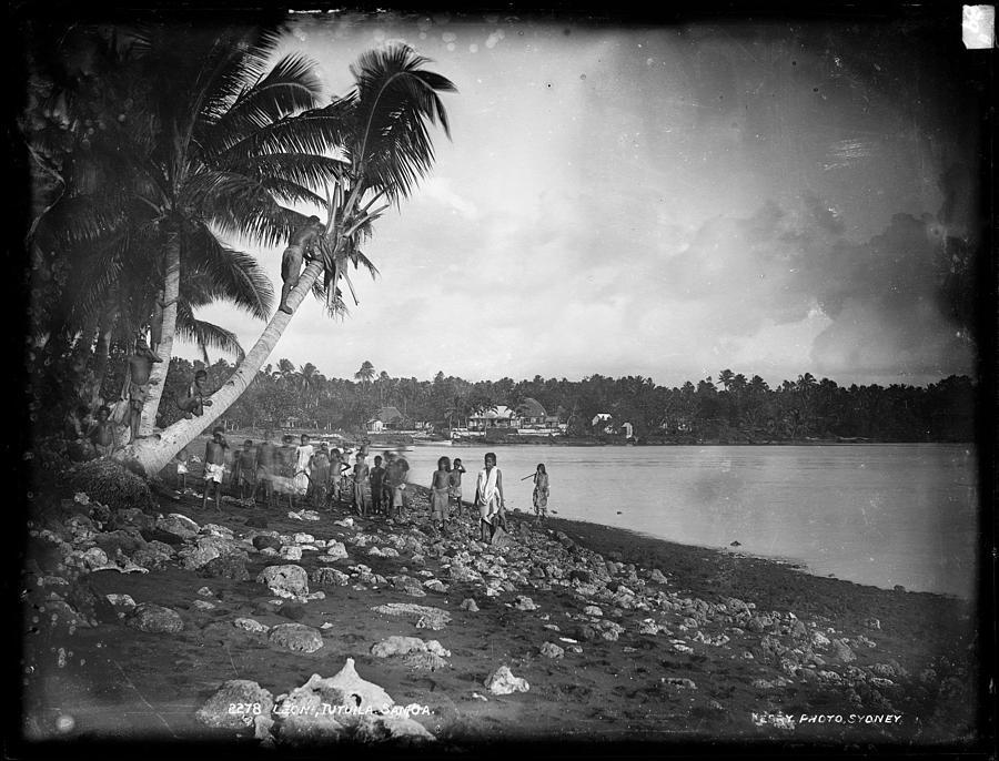 Leoni, Tutuila, Samoa, Photographed In Tutuila, Samoa, Published By Kerry And Company, Sydney, New Painting
