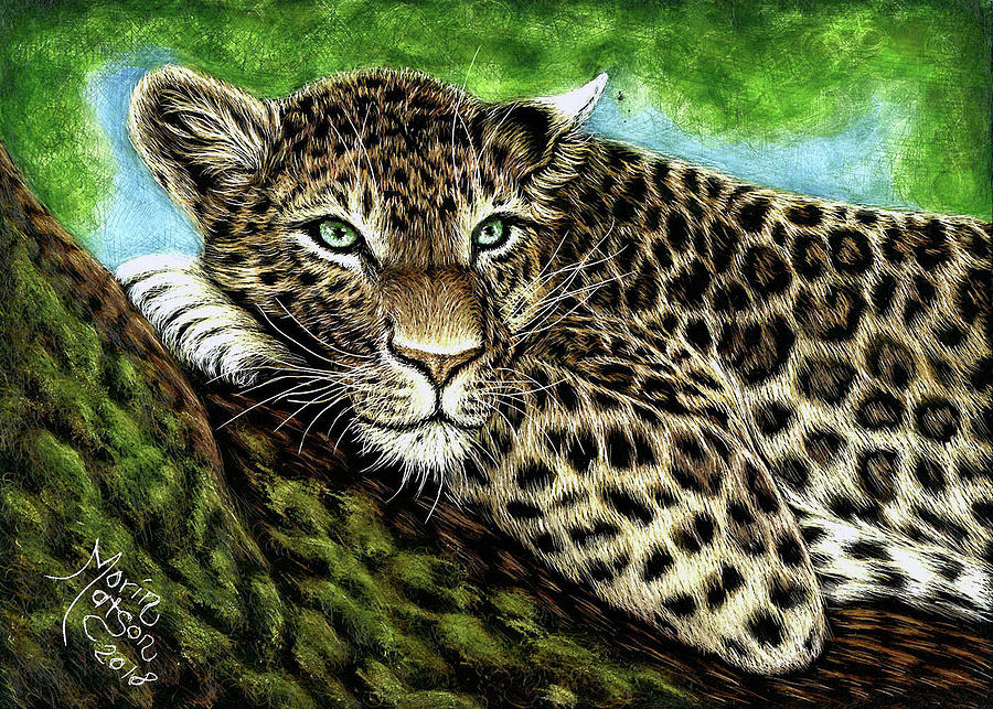Leopard by Monique Morin Matson
