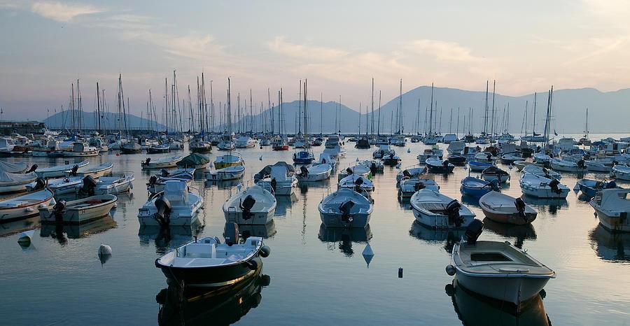 Lerici Photograph - Lerici Marina by Neil Buchan-Grant