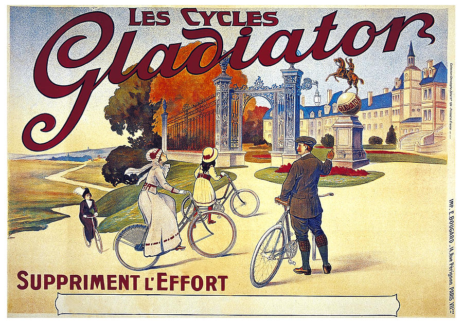 Les Cycles Gladiator - Bicycles - Vintage French ...