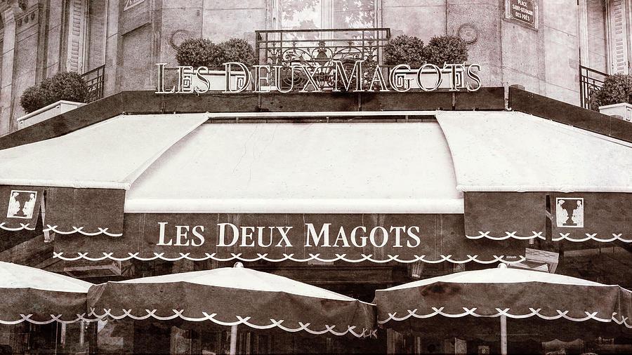 Paris Photograph - Les Deux Magots - #2 by Stephen Stookey