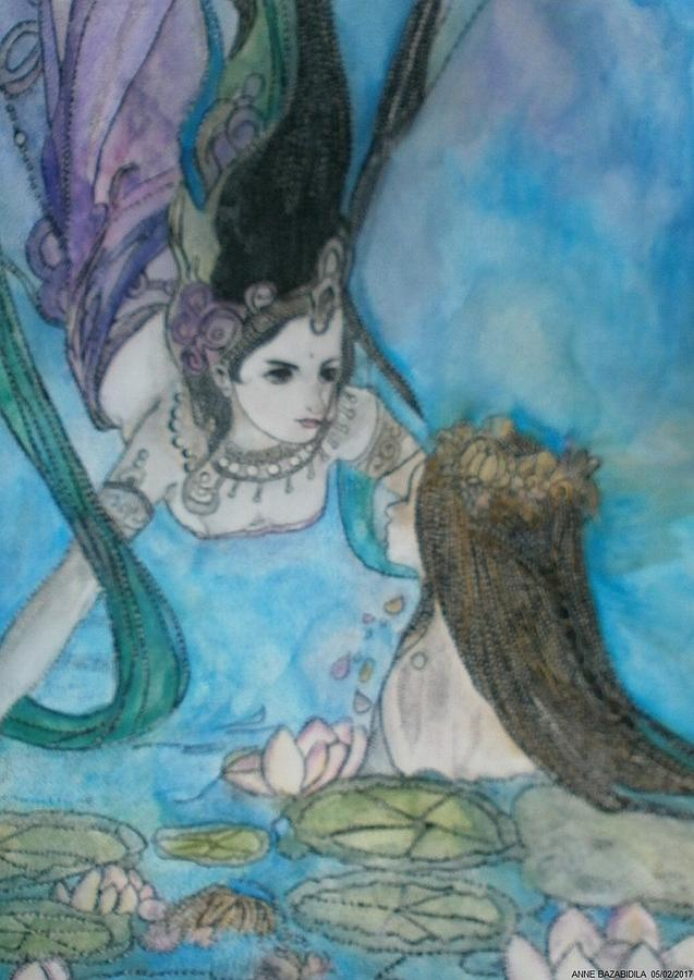 Les Deux Naiades. Painting