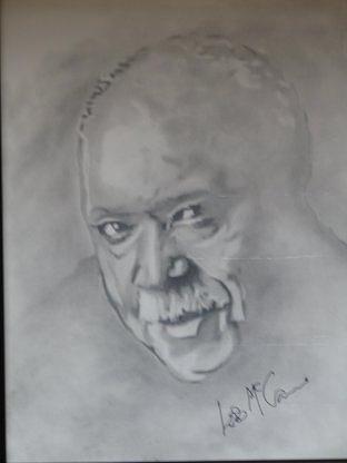 Les Mccann Drawing - les Is More Than You Mccann Imagine by B Jaxon