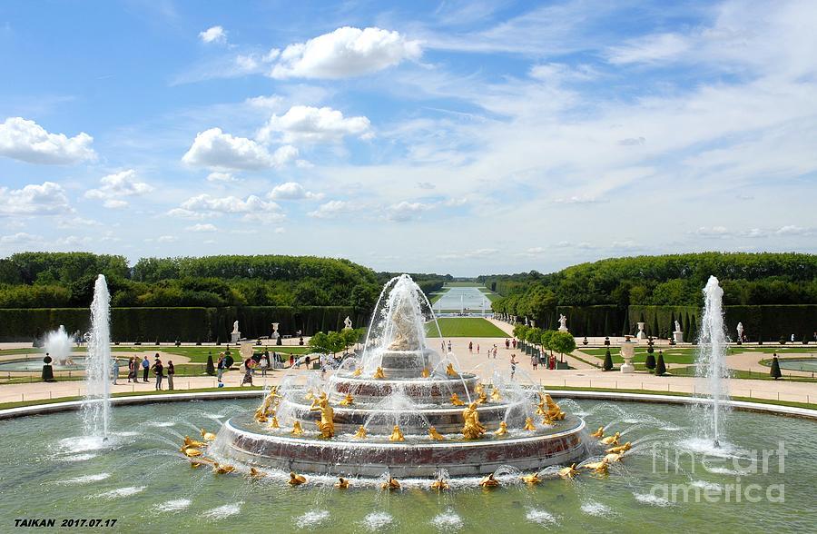 Les Jardins De Versailles By Taikan By Taikan Nishimoto